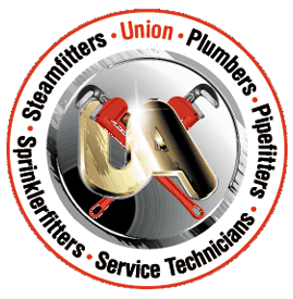 Pipe Fitters, Steamfitters,Plumbers,Service Techs,Sprinkler Fitters, Northeastern Wisconsin, Union