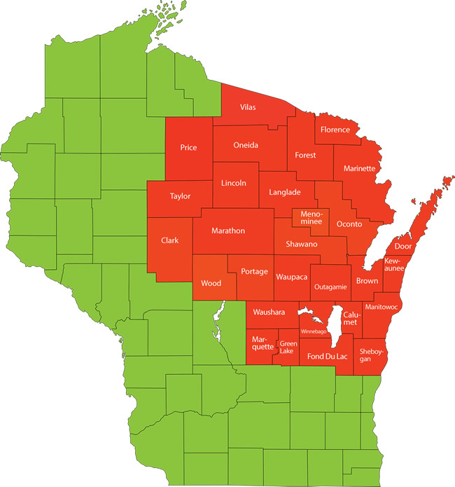 Apprenticeship In Wisconsin The NorthEast Wisconsin Building - National standards of apprenticeship for us map
